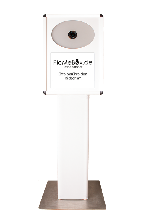 PicMeBox Fotobox München Frontansicht