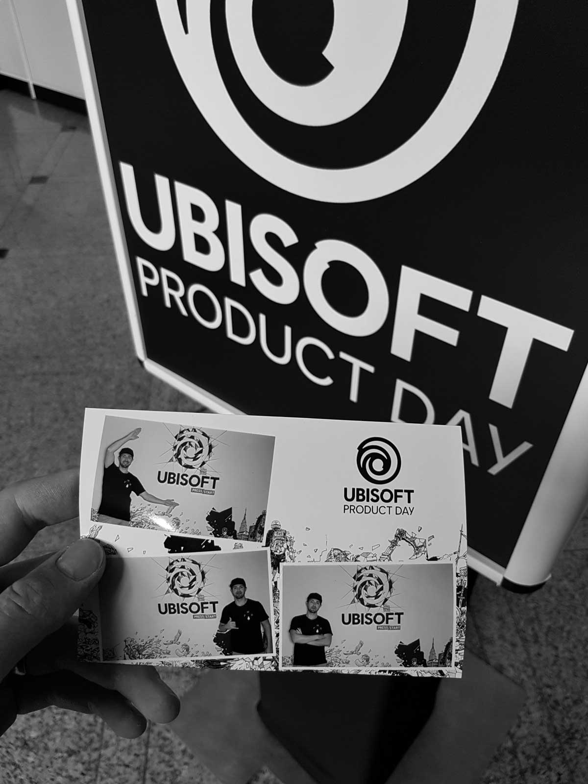 PicMeBox beim Ubisoft Product Day